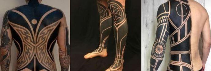 tatuajes blackwork
