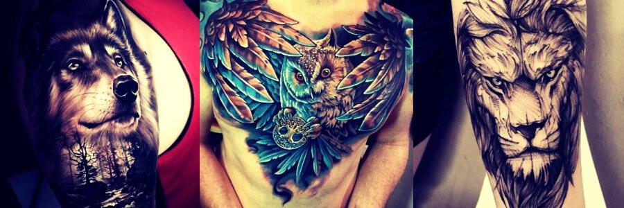 Tatuajes con los animales que mas gustan