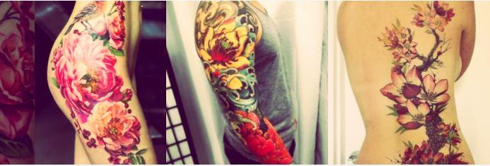 Los mejores tatuajes de flores para hombre y mujer