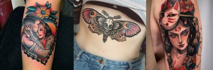 Tatuajes neotradicional