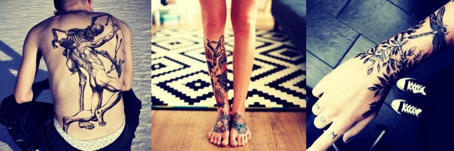 Tatuajes en el cuerpo