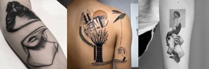 tatuajes surrealistas