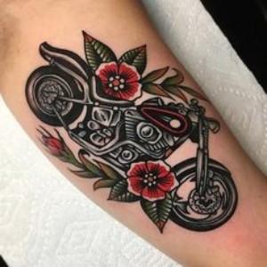 tatuajes de motos