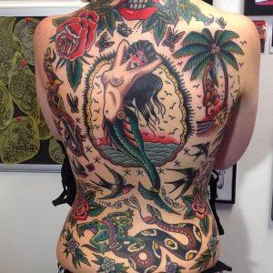 tattoos old school
