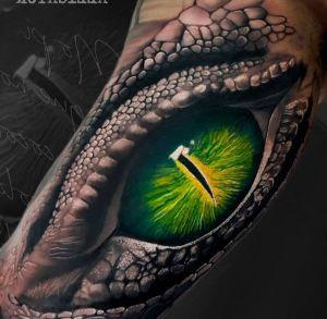 tatuaje de ojo 3D