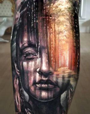 tatuaje original 3D