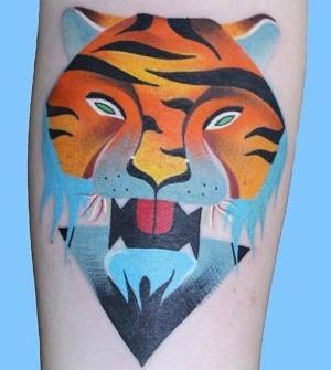 tattoo de tigres
