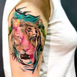 tattoo tigre