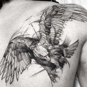 tatuaje dort work aguila