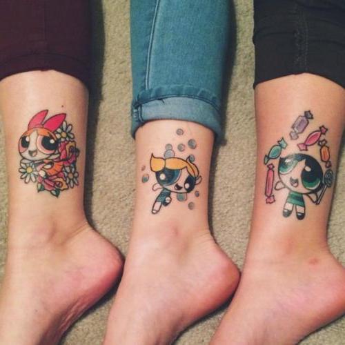 tatuaje de amigas