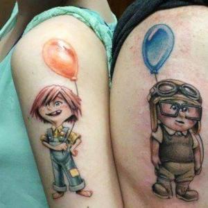 tatuajes de mejores amigos