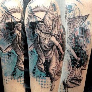 ideas para tatuajes de angeles