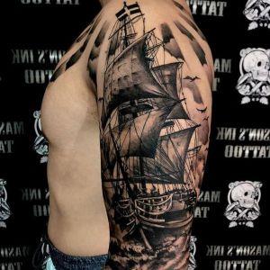 los mejores tatuajes de barcos