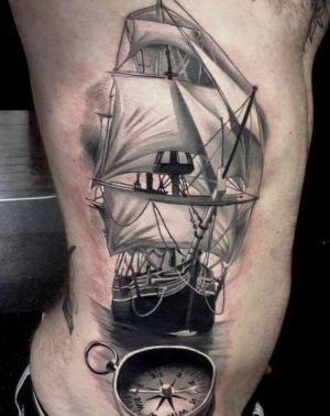 tattoos barcos