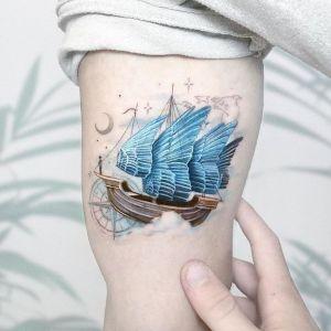 tatuaje de braco original