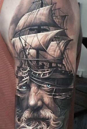 tatuajes chidos de barcos