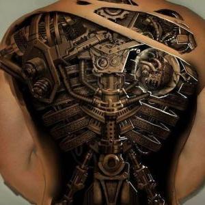 tatuajes biomecanicos