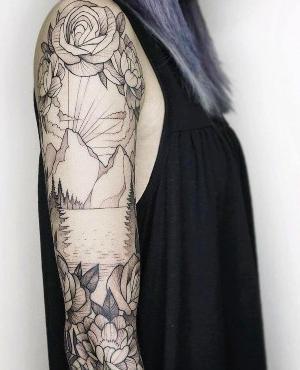 tattoo brazo completo