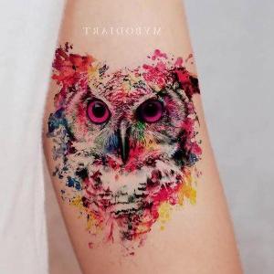 tatuajes para mujer de buho