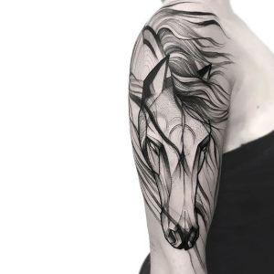 tatuajes lindos de caballos
