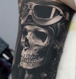 tatuajes chulos de calaveras