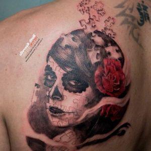 los tatuajes mas originales de catrinas