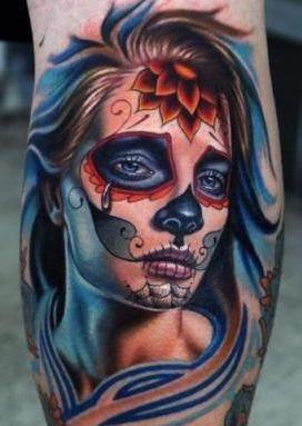 tatoo de catrina