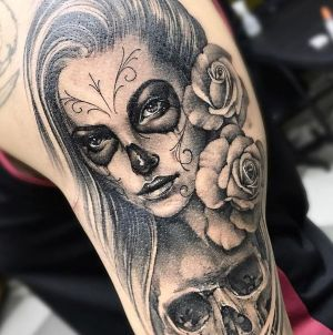 tattoo de catrina