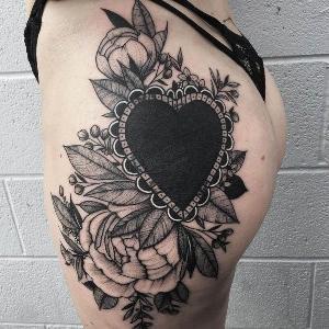 tattoo de corazon