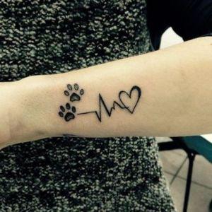 tatuaje de amor gatos