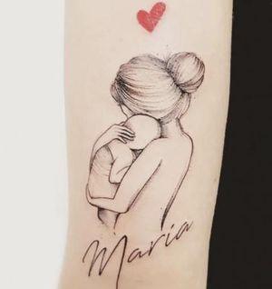tatuaje de amor hijos