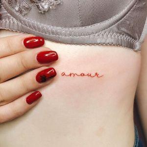 tatuajes de amor palabras