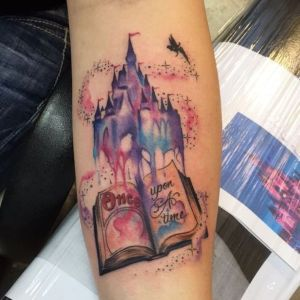foto de tatuaje disney