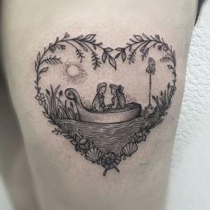 imagen de tatuaje disney