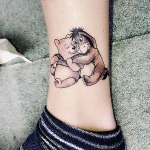 tatuaje disney winie de puh