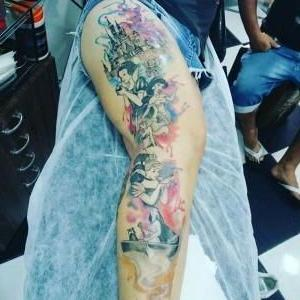 tatuaje princesas disney