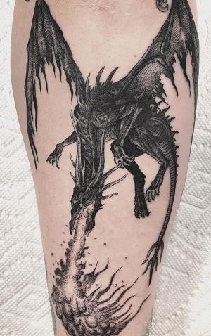 ideas de tatuajes de dragones