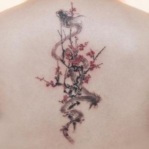 tatuajes finos de dragones