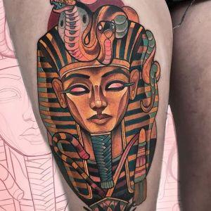 tatuaje egipcio sarcofago
