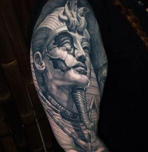 tatuaje inspiracion egipcia