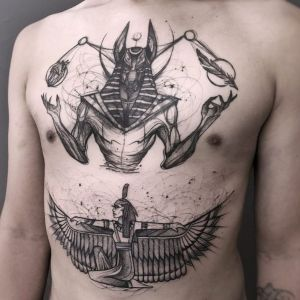 tatuajes bosquejo egicios