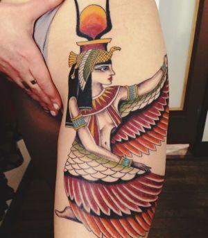 tatuajes egipcios para mujer