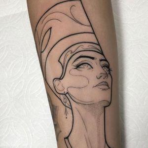 tatuajes egipcios sencillos