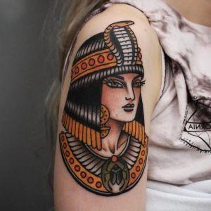 tatuajes hermosos egipcios