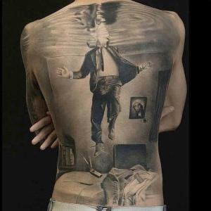 tattoo en espalda