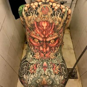 tatuaje japones espalda