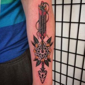 tatuajes chidos de flechas