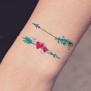 tatuajes lindos de flechas