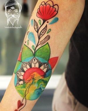 los tatuajes de flores mas chidos