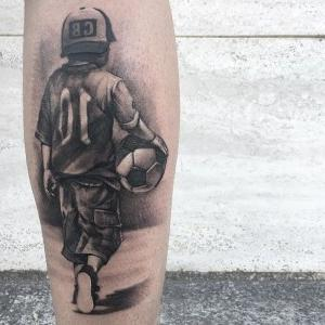tatuajes originales de futbol